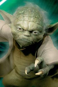 1080x2160 Yoda Star Wars 4k