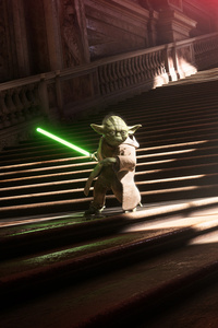 Yoda Vs Darth Vader Star Wars Battlefront 2