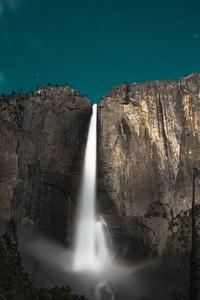 1280x2120 Yoesmite Valley Waterfall