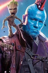 Yondu And Baby Groot