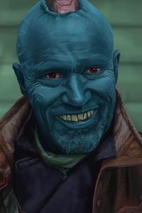 750x1334 Yondu Guardians Of The Galaxy Vol 2 Artwork
