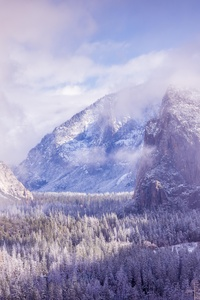 320x568 Yosemite After A Winter Storm 5k