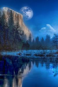 Yosemite Park Fantasy