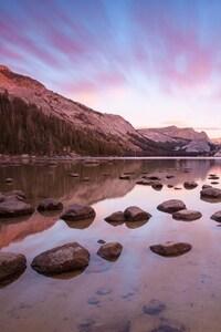 Yosemite Rocks Reflections
