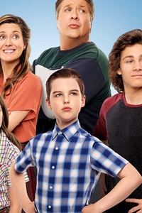 1080x2280 Young Sheldon Season 4