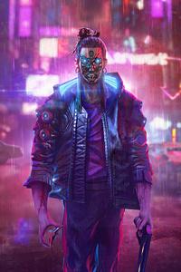 Your Night City Cyberpunk 2077 Illustration 5k