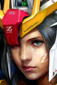 640x960 Z Gundam Girl