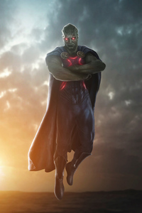 Zack Snyders Justice League Martian Manhunter 4k