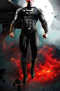2160x3840 Zack Synder Justice League Black Suit Superman 4k