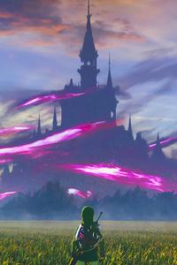 1080x1920 Zelda 4k