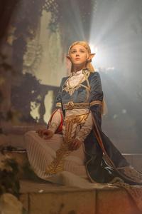 1440x2960 Zelda Cosplay 4k