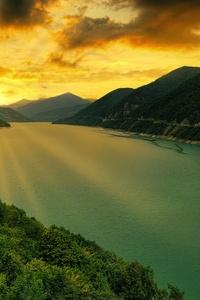 Zhinvali Reservoir Georgia 5k