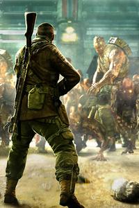 Zombie Army 4 Dead War 4k