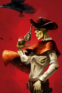 320x568 Zombie Comboy