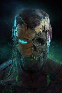 Zombie Iron Man 4k